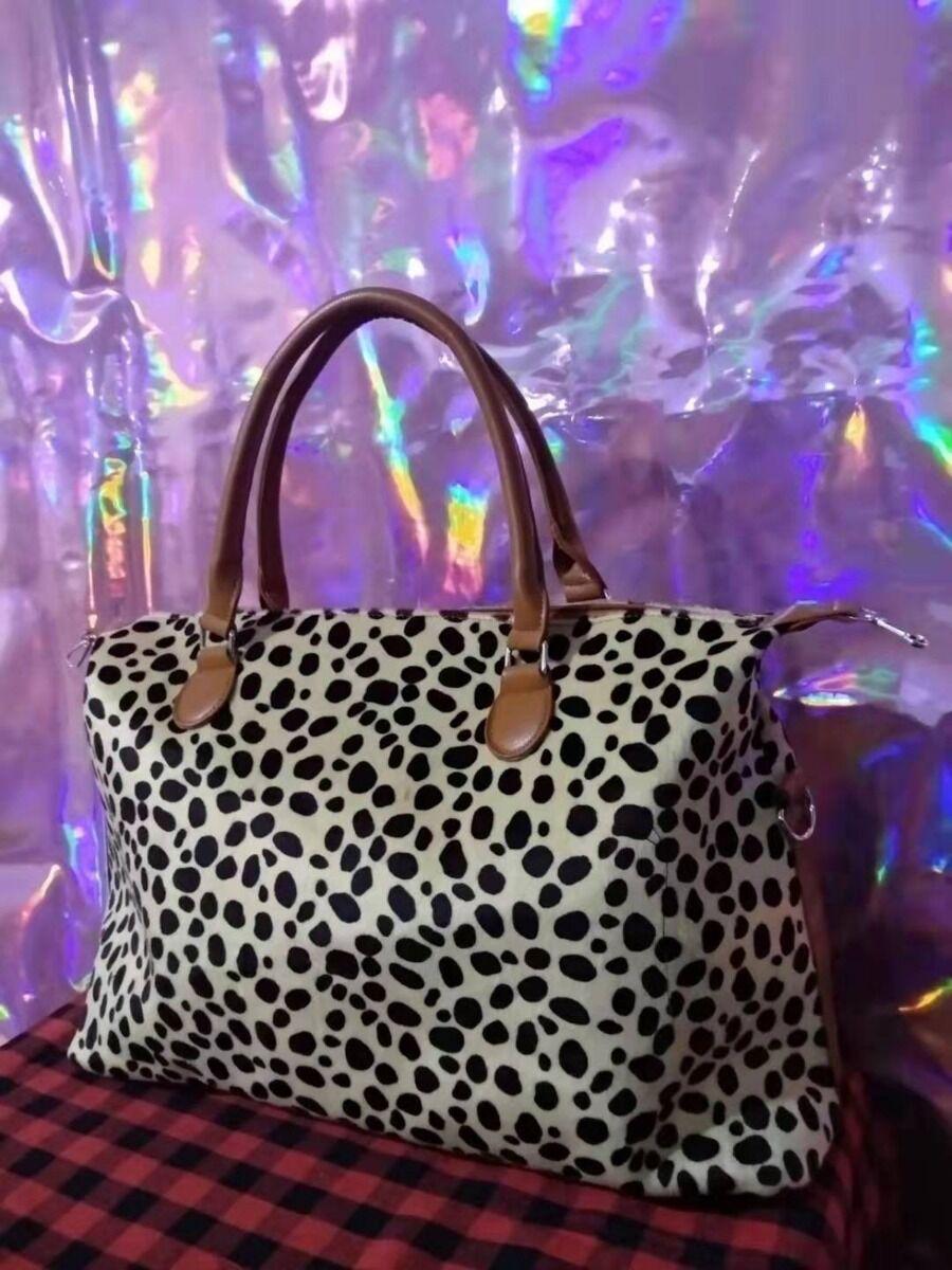 shestar wholesale Leopard Print Zipper Clutch Bag For Traveling