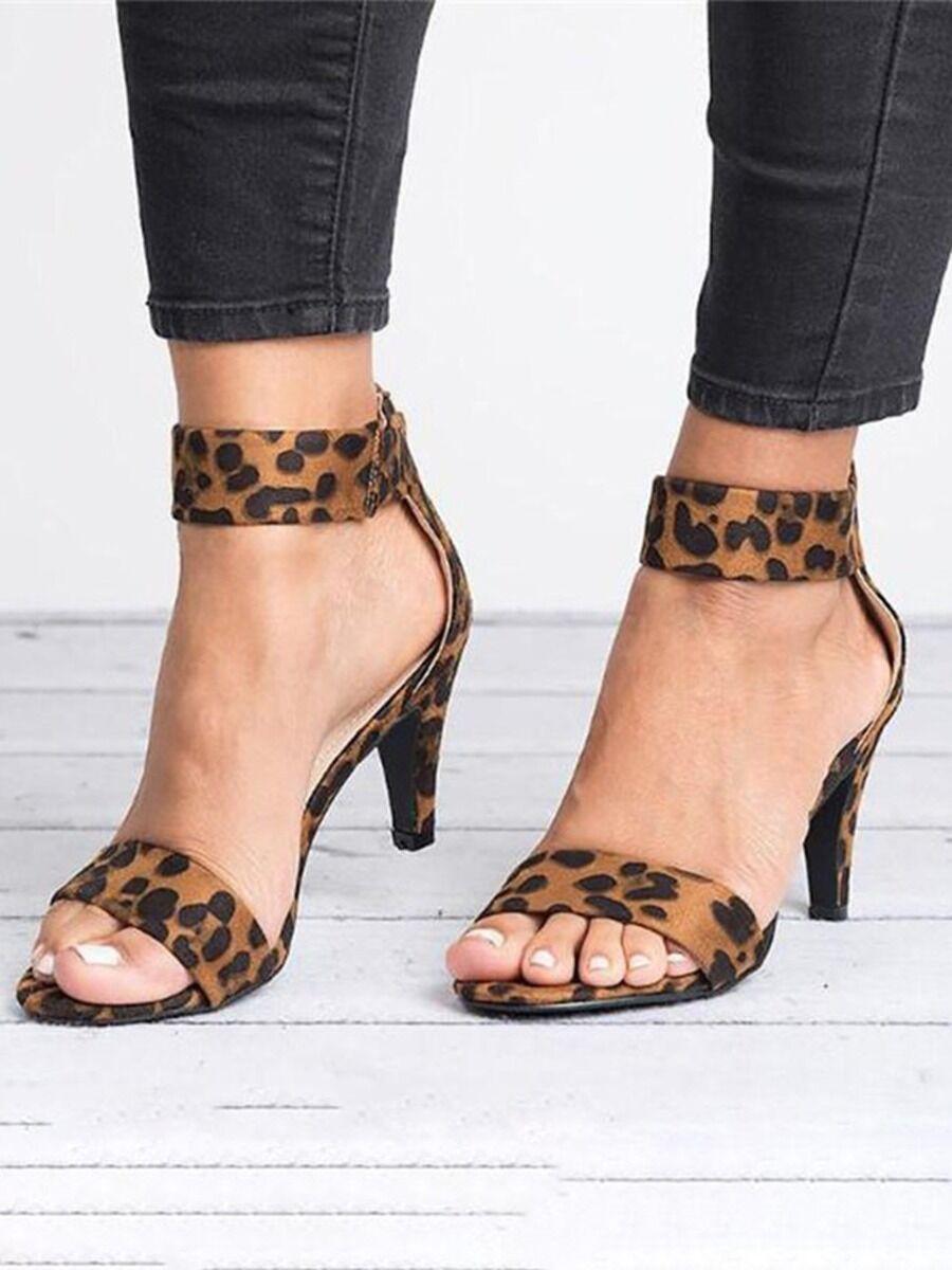 shestar wholesale Women Buckle Open-toe Stiletto Sandals
