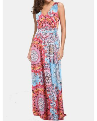 Bohemian Long Maxi Dress for Women's