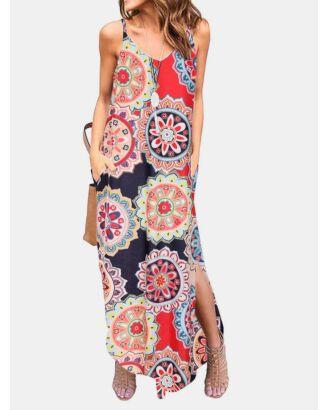 Women Suspender Dress