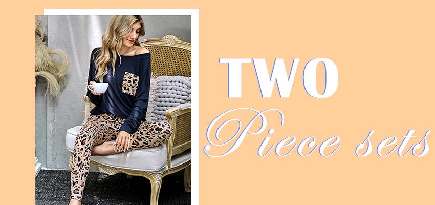 wholesale women's two pieces sets